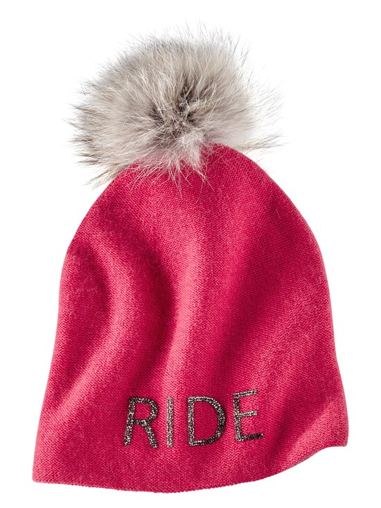 ride cashmere knit hat