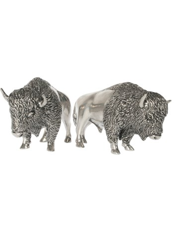 bison salt & pepper shaker