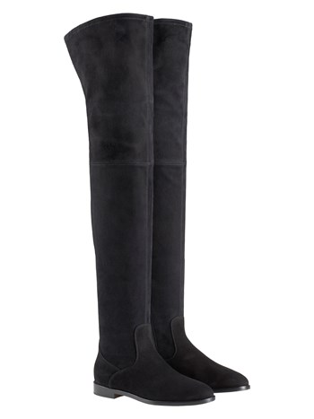 jess over the knee suede boot