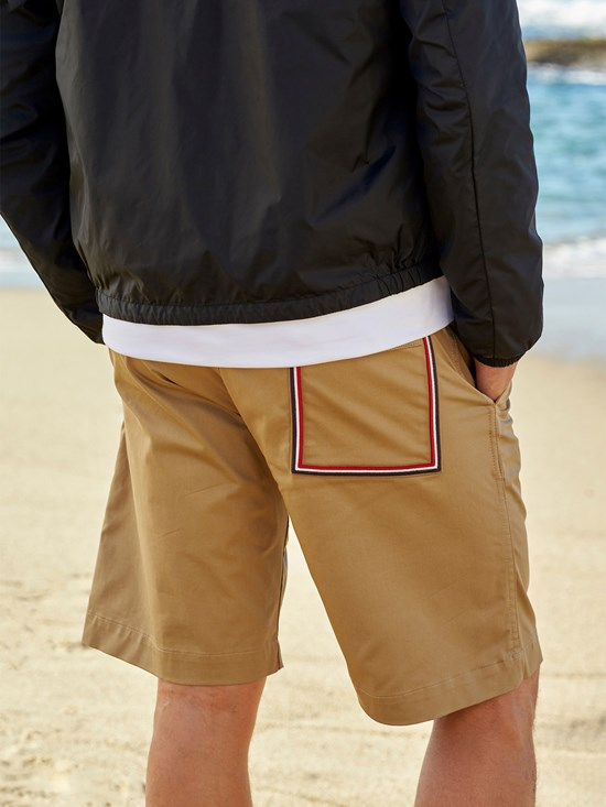 cotton flag bermuda short