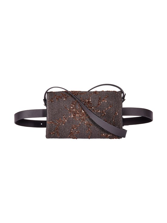 4958939dfc41 embroidered calf leather belt bag - Gorsuch