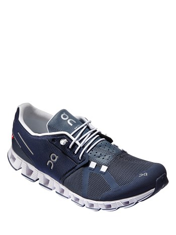 cloud navy/white running shoe