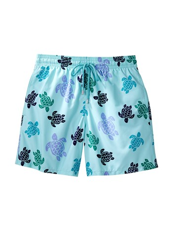 morea turtle print swim shorts