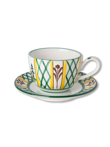 hunter cup and saucer