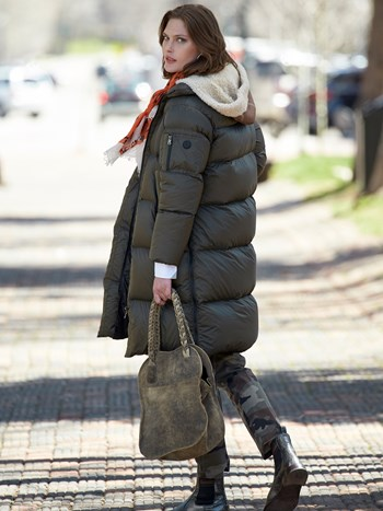 ayda down coat