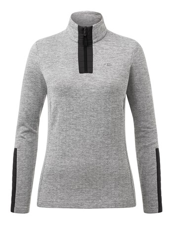forun stretch half zip turtleneck