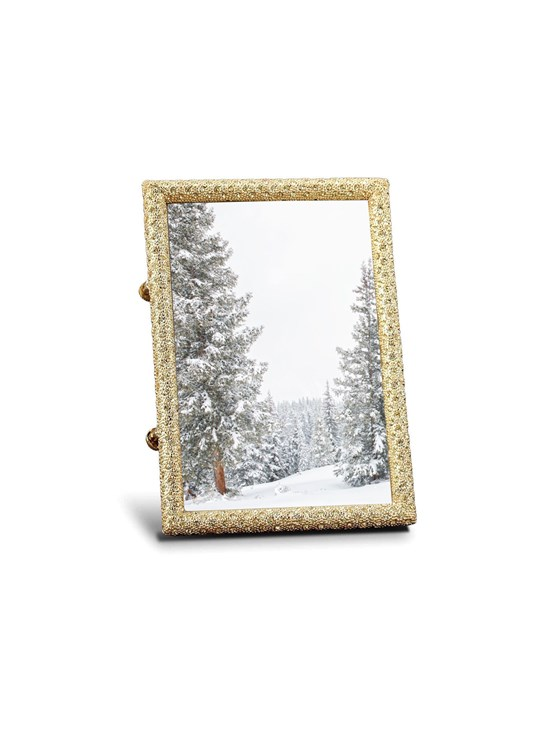 gold crystal frame 4X6