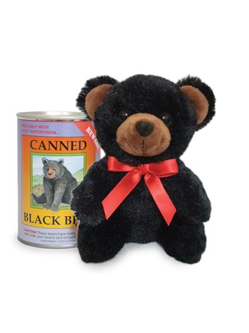 black bear canned critter