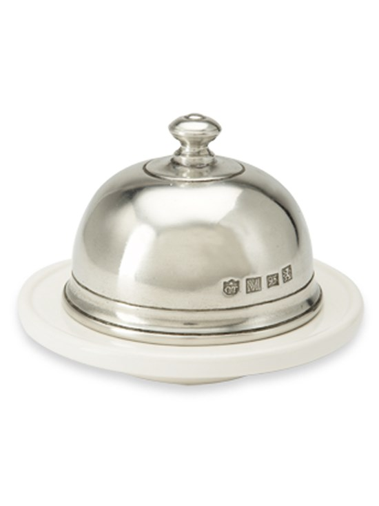 small dome butter dish
