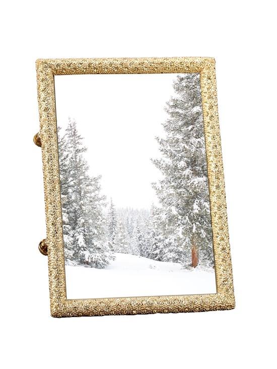 gold crystal frame 5x7 - Gorsuch