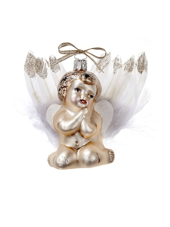 cherub ornament