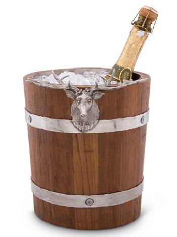 elk wood ice bucket
