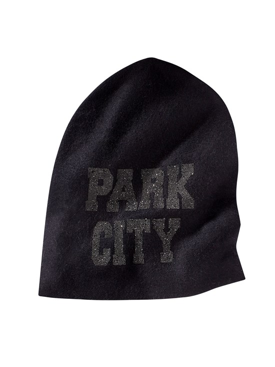 park city cashmere knit hat