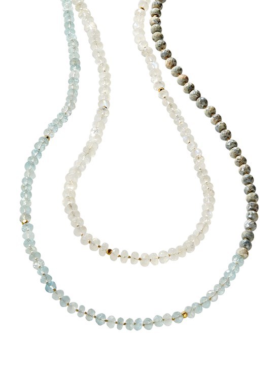 lucia crystal necklace