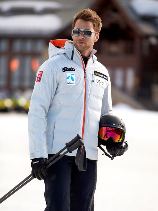 norway team down ski jacket