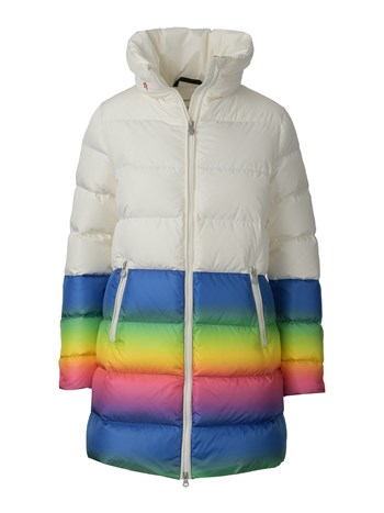 alps rainbow down coat