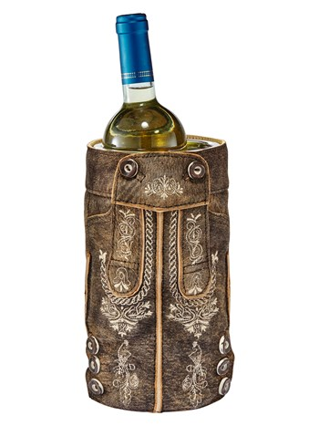 lederhosen antique wine cooler