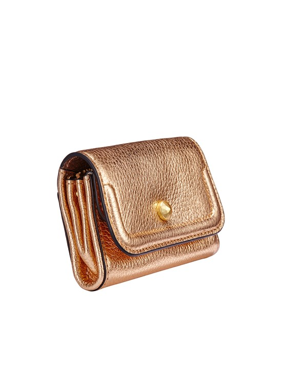 Adelaide metallic wallet