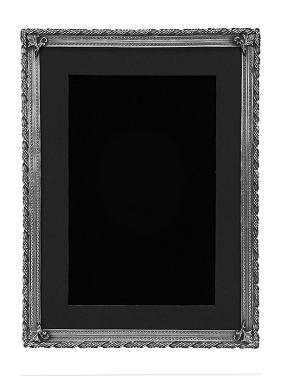 empire 5x7 pewter frame