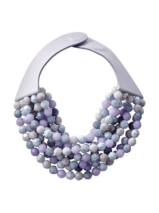 bella lavendar necklace