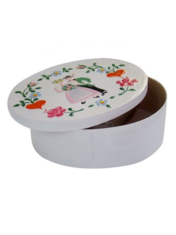 oval wedding box