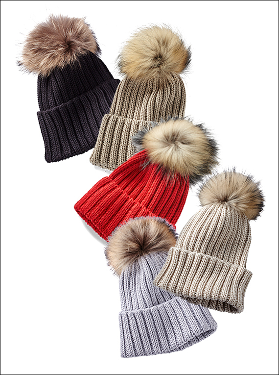 There's a Chill in the Air - Knit Hats
