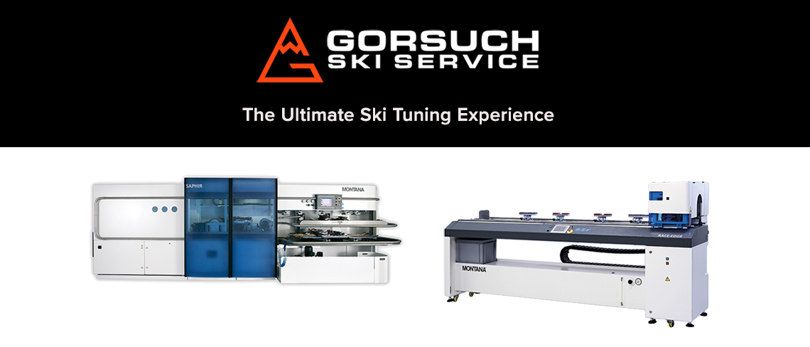 Gorsuch ski service - the ultimate ski tuning experience