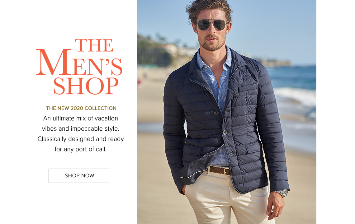 The Men's Shop - Shop Now