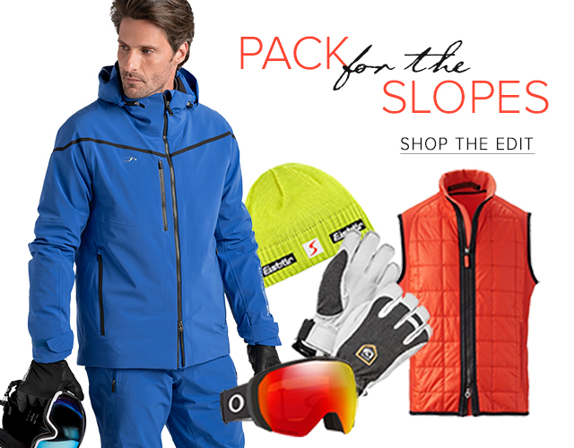 Pack For The Slopes