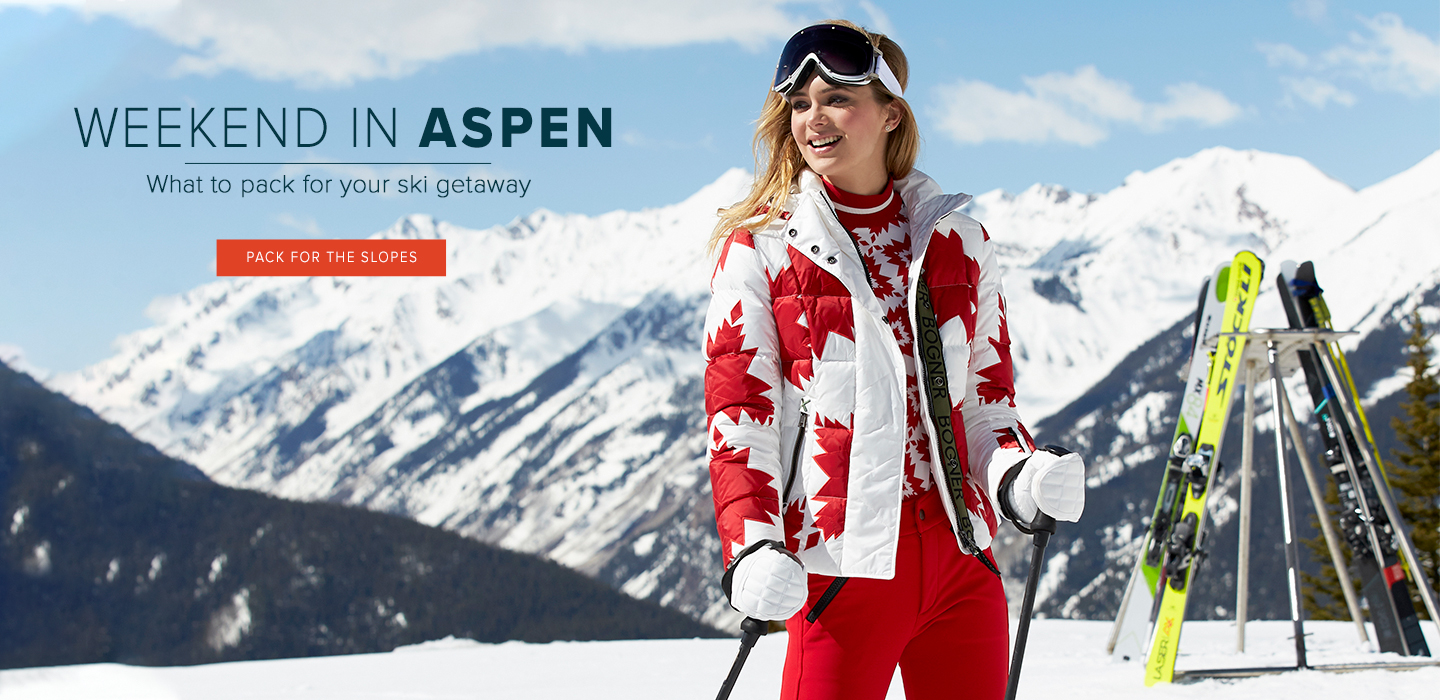 Weekend in Aspen - What to Pack