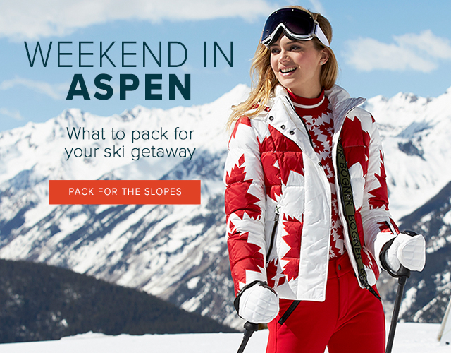 Aspen Getaway - What to Pack