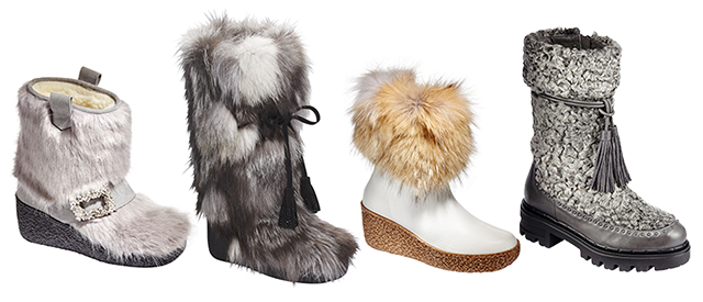 Fur Boots - Shop the Collection