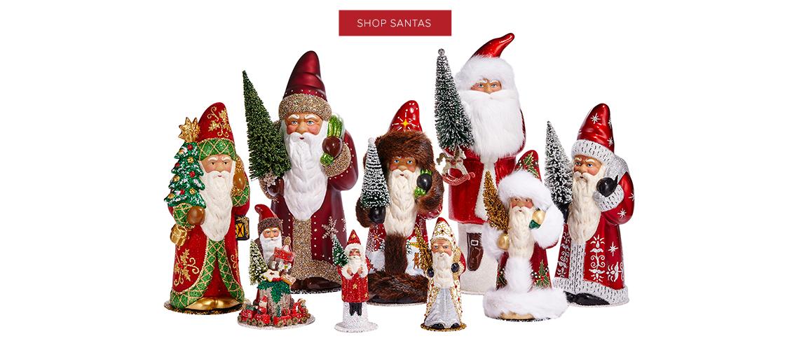 Shop Santa Figurines