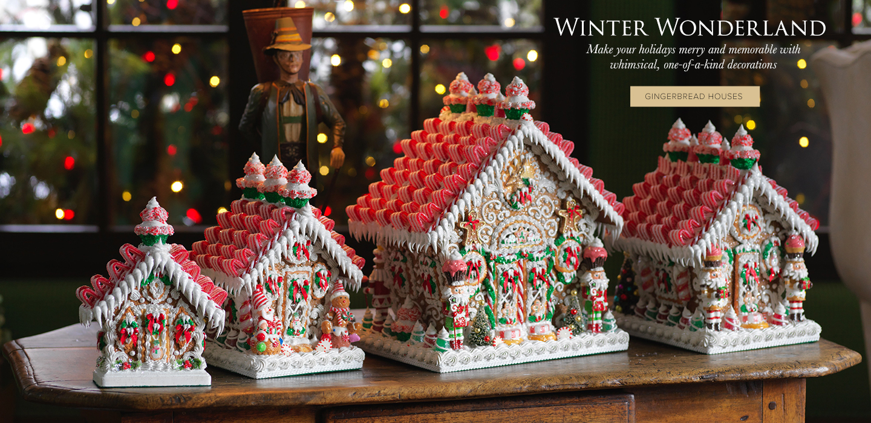 Winter Wonderland - Gingerbread Houses