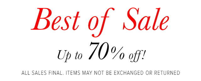 Best of Sale - Women's