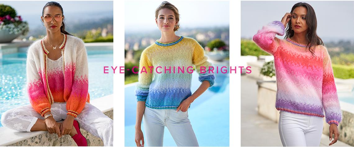 Eye Catching Bright Sweaters