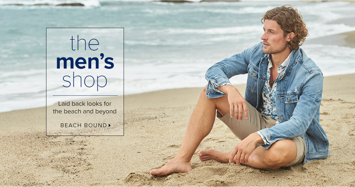 Getaway Mens Shop - Beach Bound