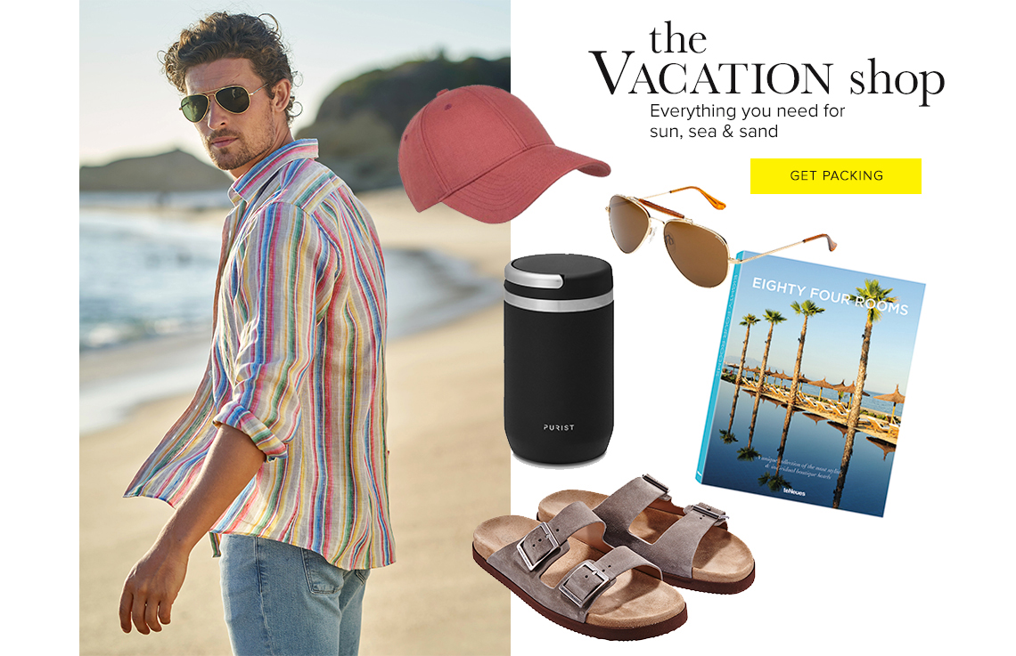 Men's Vacation Shop