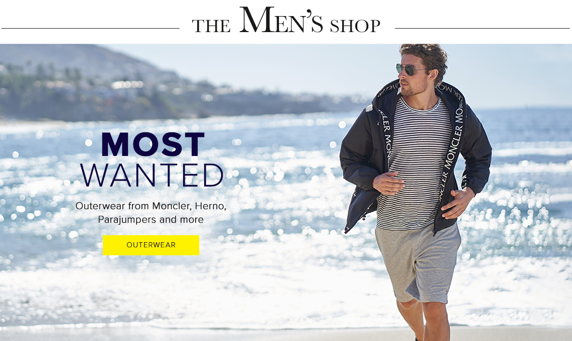 The Men's Shop - Shop Outerwear