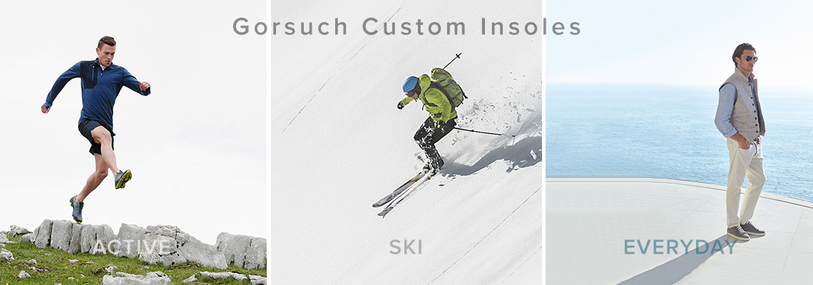 Active - Ski - Everyday - Custom Insoles
