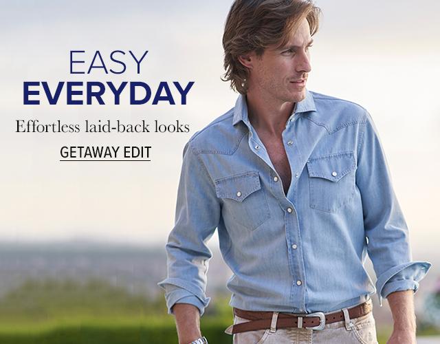 Men's Getaway Edit