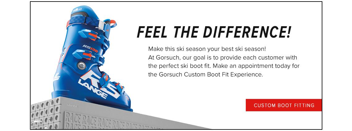 Custom Boot Fitting