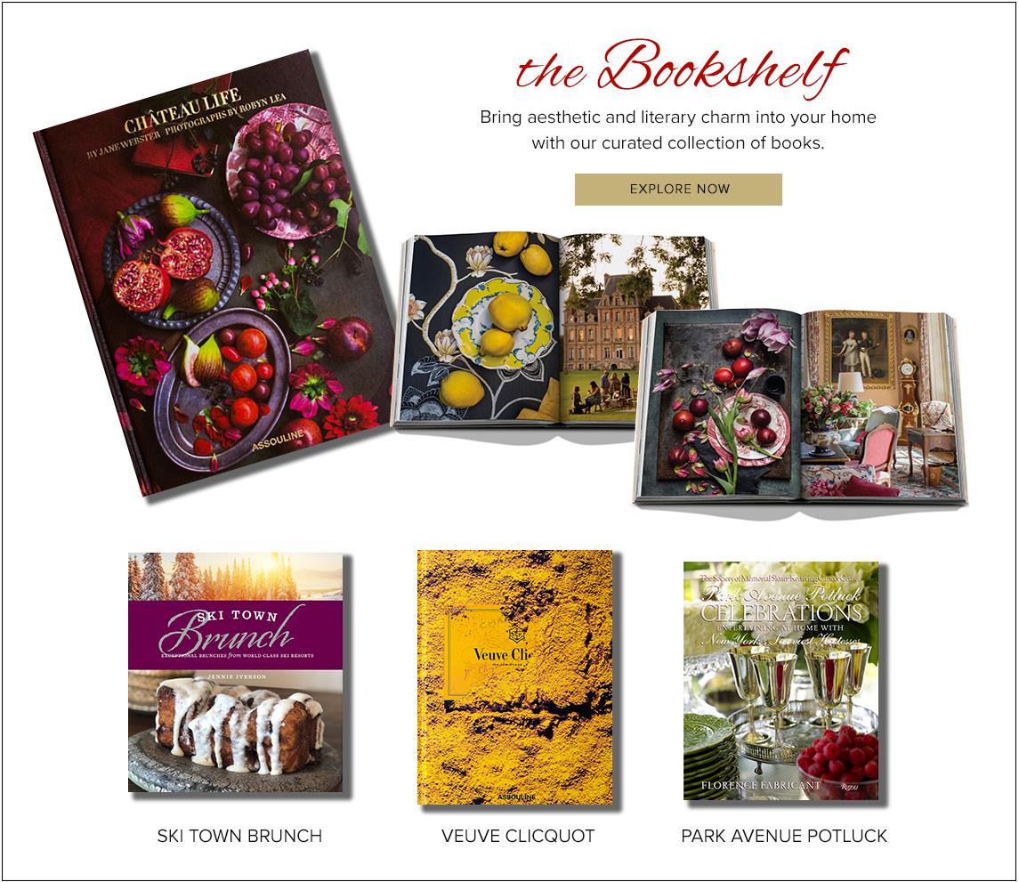 The Bookshelf - Explore Now