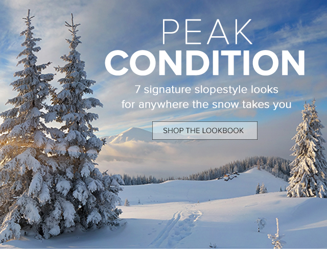 Peak Condition - Lookbook