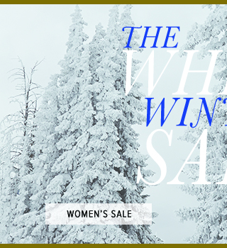Women's White Winter Sale