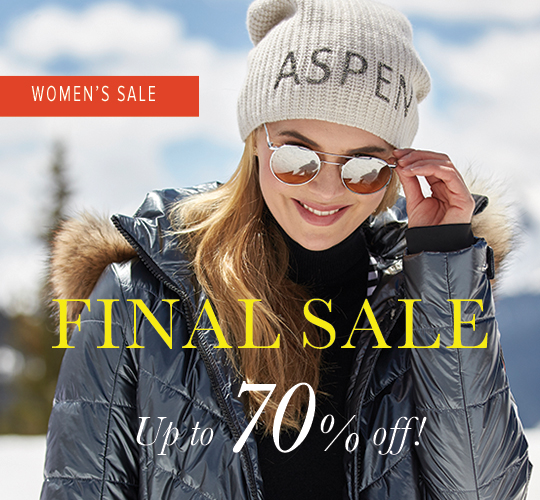 Final Sale - Shop Women's