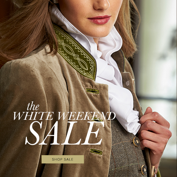 White Weekend Sale - Shop Now