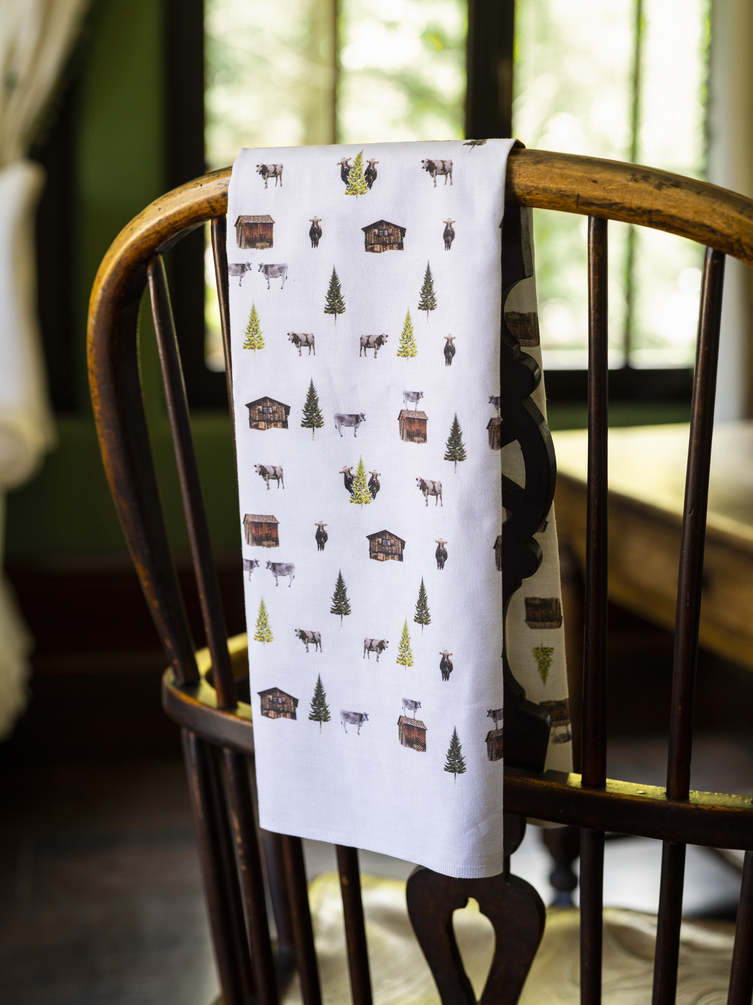 Summer Alpine Tea Towel