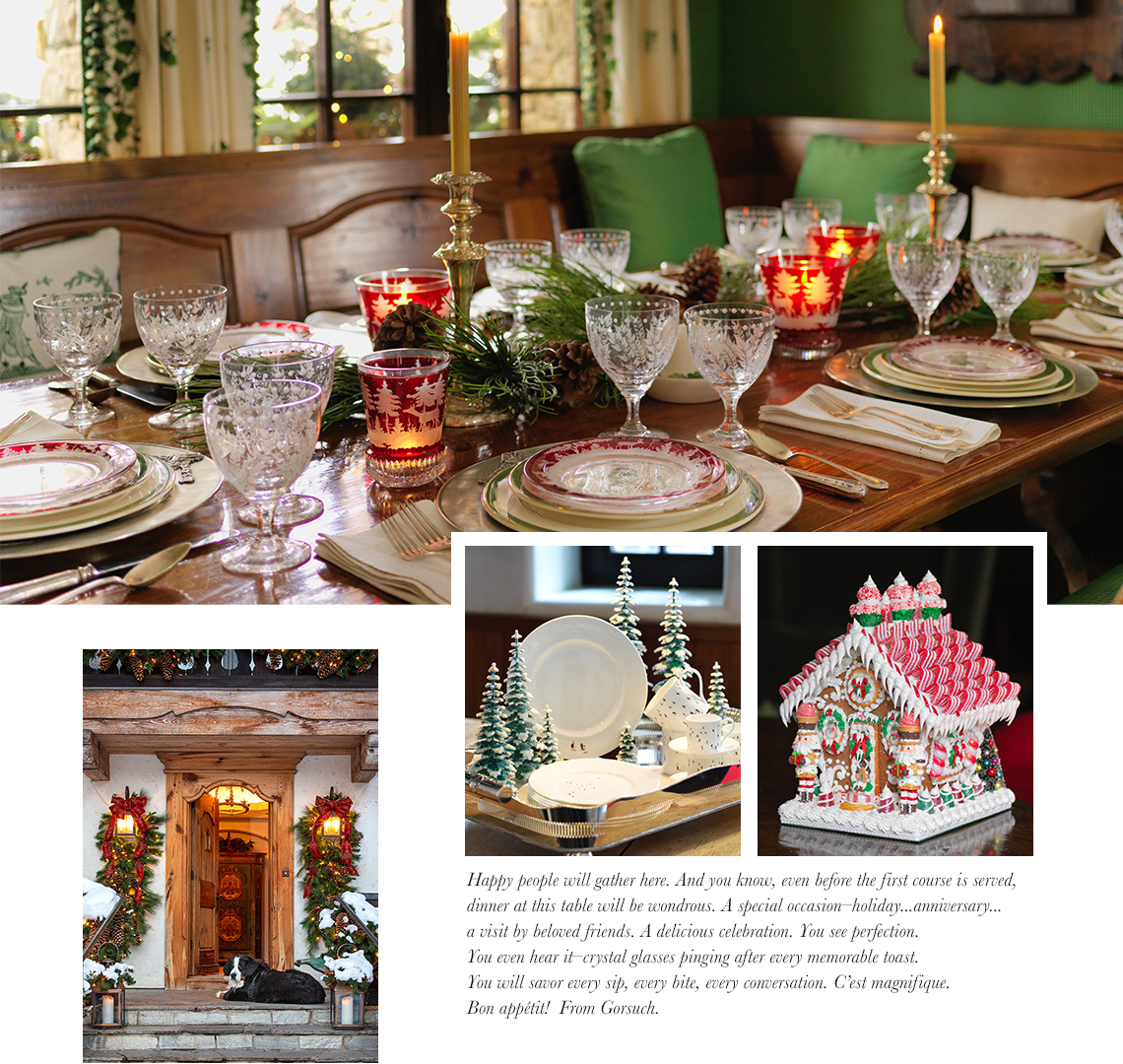Holiday Hosting Table Setting