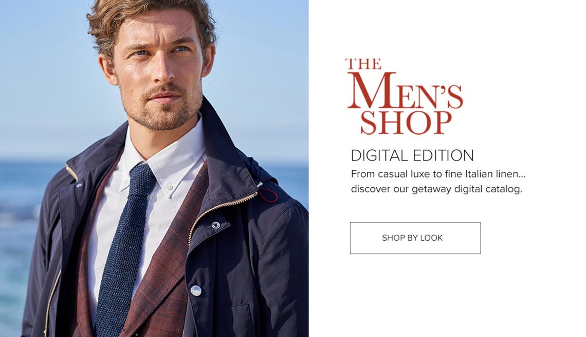 The Men's Digital Catalog - Shop by Look